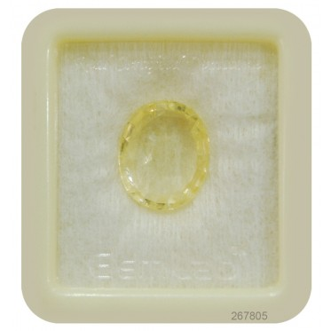 Yellow Sapphire Sup-Pre 12+ 7.55ct