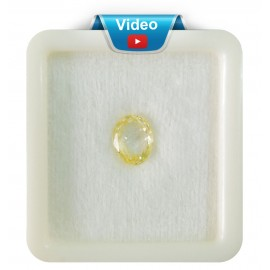 Yellow Sapphire Sup-Pre 3+ 2.15ct