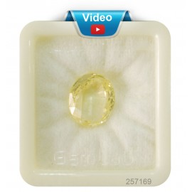 Yellow Sapphire Sup-Pre 15+ 9ct