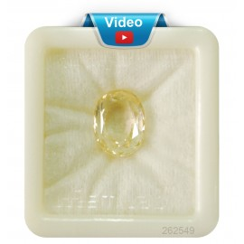 Yellow Sapphire Sup-Pre 17+ 10.5ct