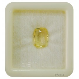 Natural Yellow Sapphire Fine 4+ 2.8ct