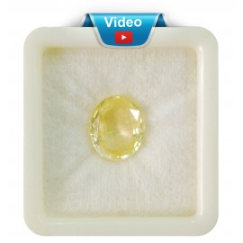 Yellow Sapphire Sup-Pre 10+ 6.15ct