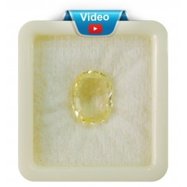 Yellow Sapphire Sup-Pre 12+ 7.2ct