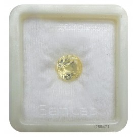 Natural Yellow Sapphire Fine 6+ 3.65ct