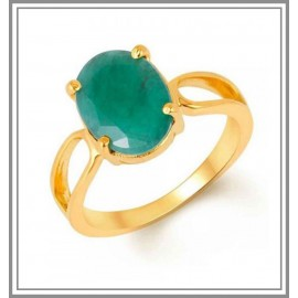 Emerald Gold Ring 18k